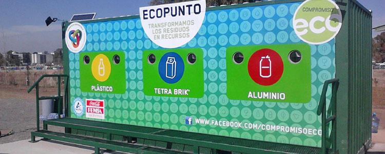 Tecnópolis: Punto De Reciclado En Container Marítimo