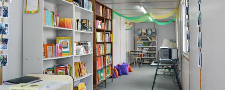 Biblioteca Y Sala De Lectura: Un Contenedor De Futuro