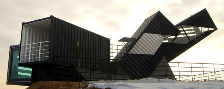 Oceanscope, Un Observatorio Hecho De Contenedores Reciclados