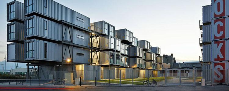 Residencia Universitaria Hecha Con Containers