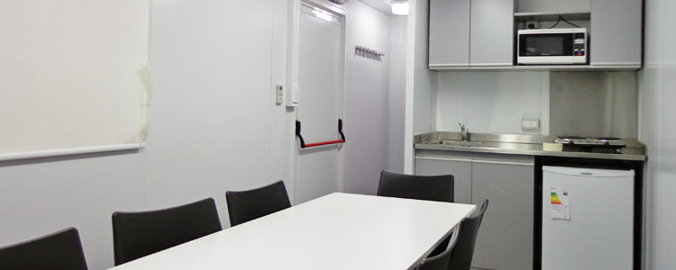 Módulo Mixto: Comedor-oficina Con Baño