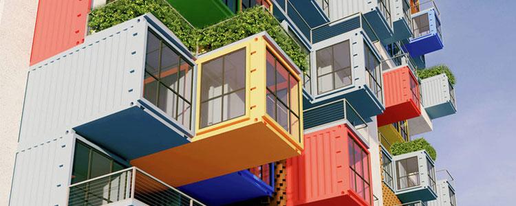 Rascacielos De Containers
