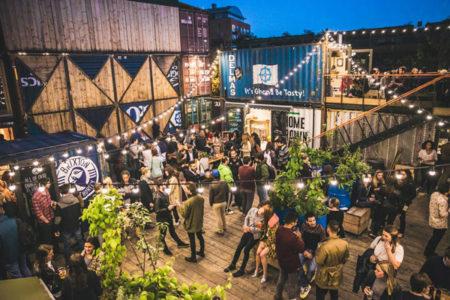 Pop Brixton: El Paseo Comercial Realizado Con Contenedores