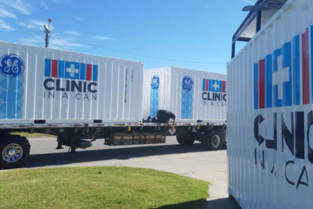Clinic In A Can: Unidades De Salud En Containers