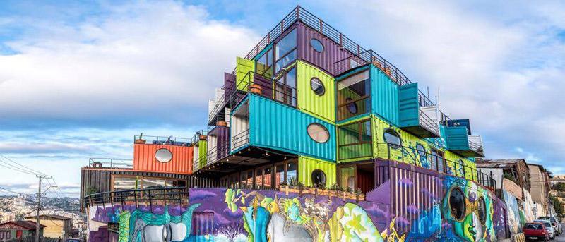 WineBox Valparaíso: Un Particular Hotel Hecho Con Containers