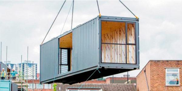 Viviendas Con Containers Para Desastres Naturales