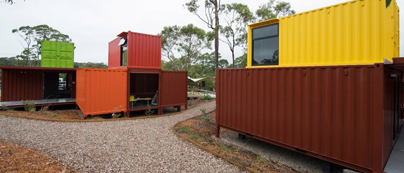 Salones De Clase Con Containers En Sidney