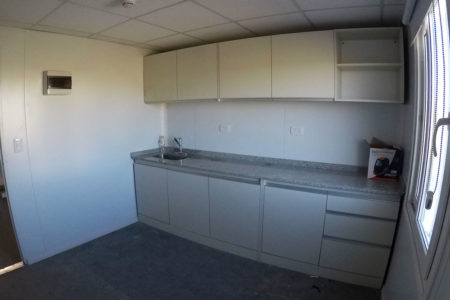 Nuevo Edificio Modular De Oficinas En Santa Fe