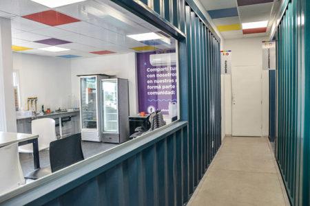 Nuevo Centro De Innovación Hecho Con Containers
