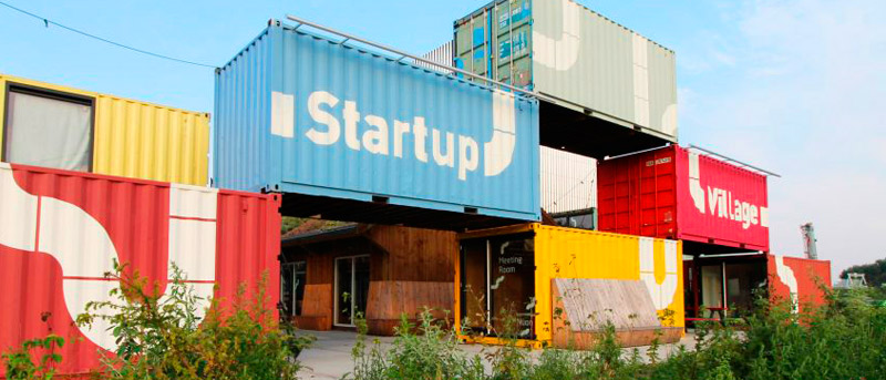 Startup Village: Contenedores Para Emprendedores