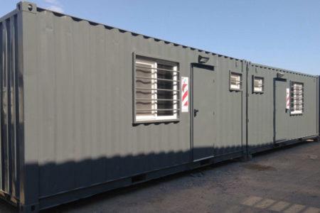 Nuevo Campamento Ferroviario Con Contenedores
