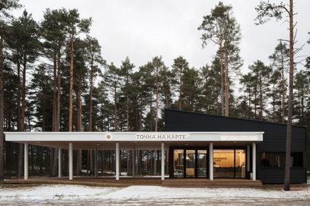 Moderno Hotel Modular En Rusia