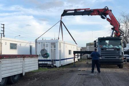 Nuevo Campamento De Trailers Petroleros