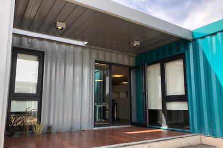 Oficinas Con Contenedores Para Moto Mecánica Argentina