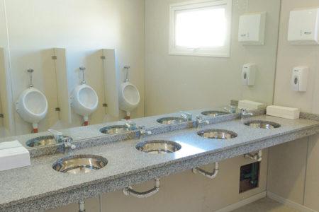 Restroom Container Module