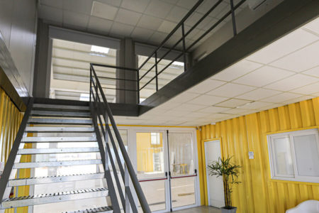 Container Buildings Project - Ruta 40 S.A. Building