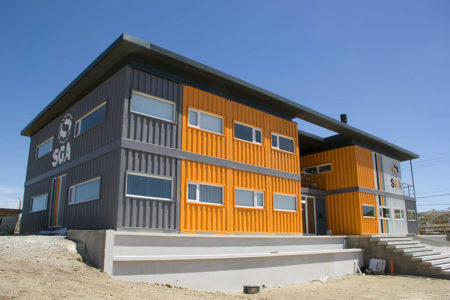 Container Buildings Project - SGA Building