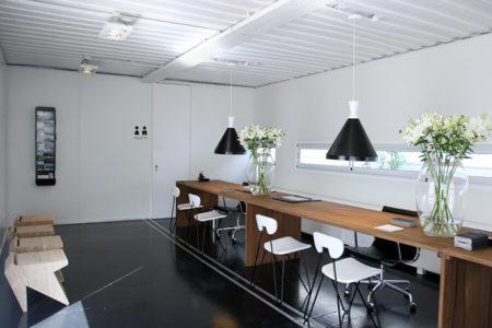 Contenedor Showroom
