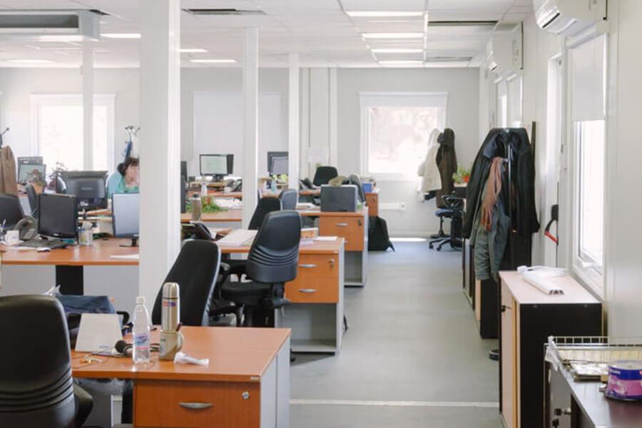 Proyecto Edificio Contenedores - INVAP Bariloche