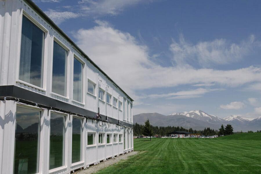 Proyecto Edificios Contenedores - INVAP Bariloche