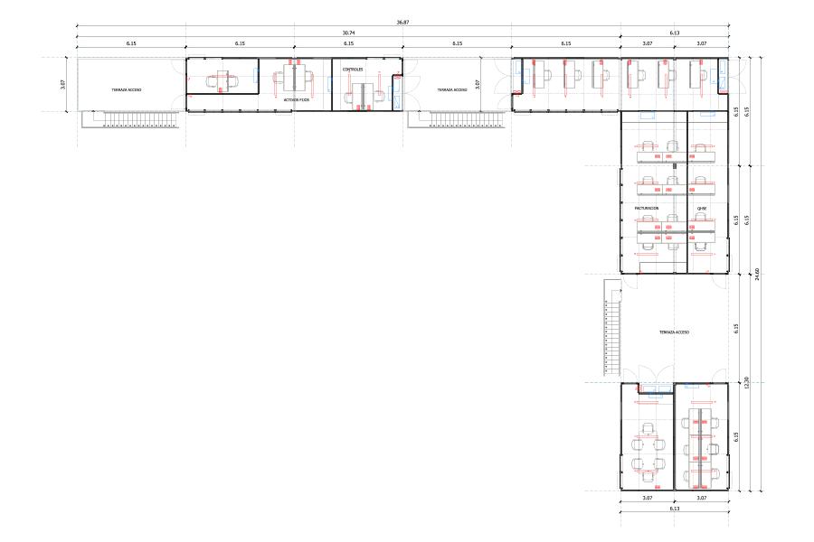 Plano Del Complejo De Oficinas Weatherford